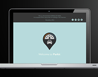 Web Design - App Promotion Site