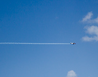Airplane exhibition