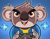 Dumpy Koala - Mascot Design