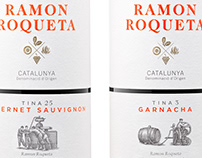 Ramon Roqueta Wine Labels Illustrated by Steven Noble