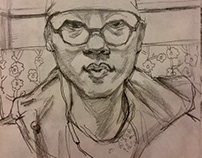 Self Portrait Quick Sketch