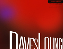 Dave's Lounge Branding