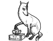 Anna Karenina/Karina Fox Illustration