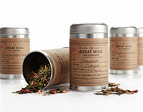 The Great Wall Tea Co. Packaging