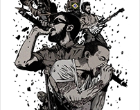 LINKIN PARK - LIVING THINGS WORLD TOUR - POSTER