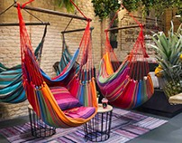 Hammock, Vegan hang out by Egue y Seta