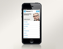 HP Discover Smartphone App