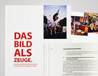 DAS BILD ALS ZEUGE – Editorial Design