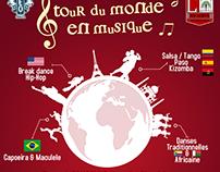 Tour du Monde en Musique, 2014