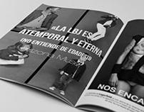 Maquetación Vangard Magazine