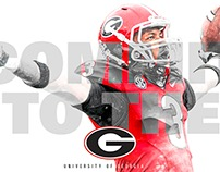 Georgia Football - Design Direction
