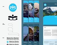 Waterton-Glacier Branding Concept