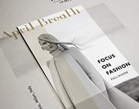 A flyer design for April Breath