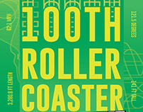 100th Coaster Posters