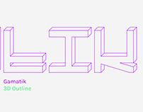 Gamatik Typeface