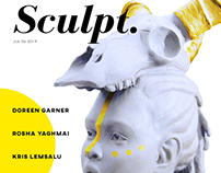 Sculpted Magazine Cover
