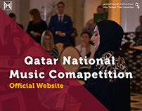 Qatar National Music Competition Website
