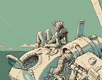 Whirlygig Illustration Series.