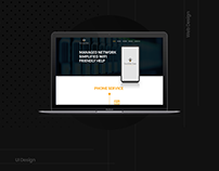BumbleBee Networks- Minimal Website Design & Developmet