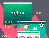 Gol+Pas Logo & Backgrounds