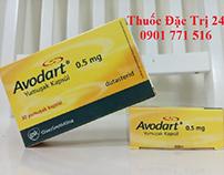 Thuốc avodart 0.5mg dutasteride - thuốc đặc trị 247