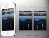 Fingerprint Scanner UI Concept iOS