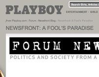 Playboy Newsfront