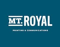 Mt. Royal Printing & Communications Branding