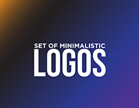 Set Of Minimalistic logos