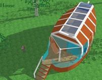 Estrutura Sustentável - Bungalow