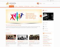 Website Ministério Fama