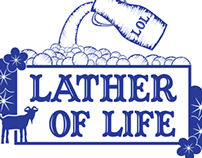 Lather of Life (Logo and Label)