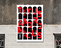 """""""Titus Andronicus"""" Theatre Poster"""
