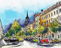 Dresden, Königstraße