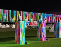 Festival Estéreo Picnic 2019 - Stage design