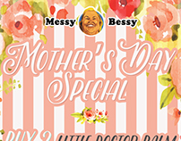 Messy Bessy: Mother's Day Promo Posters
