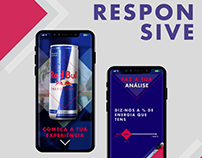 Red Bull Responsive Website
