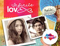 Infinite Love webisode - Facebook Application Design