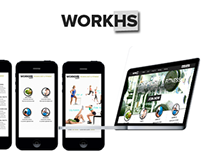 WorkHS - Mobile App For Fitness Club