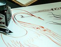 Book Illustration: The Enchanted Bird
