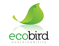 Eco Bird (leaf) Logo Design