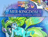 Mer-Kingdom Coloring Book