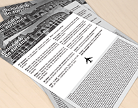 Diagramação: Flyer Dicionário de Turismês