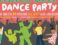 KEXP Dance Party Poster