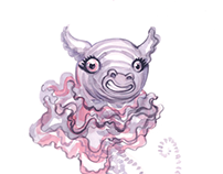 Book Illustration: Creature Fusion
