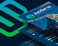 JazzServe - website design