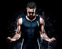 2XU Fabric Illustration