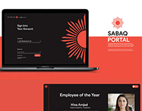SABAQ Portal Ui Design (Black Version)