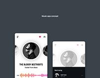 Music app card