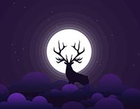 oh deer - ui animation